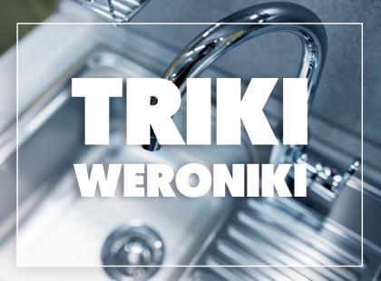 Triki Weroniki: Jak domowym sposobem udrożnić odpływ?