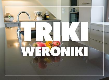 Triki Weroniki: Jak sprawić, by kuchenne blaty i fronty lśniły?