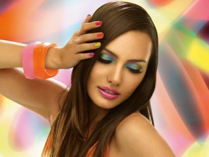 Tropikalne kolory nowej kolekcji kosmetyków IsaDora