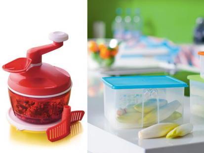 Tupperware - Szef kuchni i pojemniki Tęczowa Szklarnia