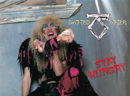 "Twisted Sister ""Stay Hungry"""