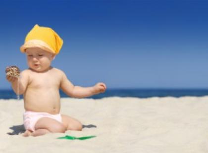 Twój maluszek na słońcu