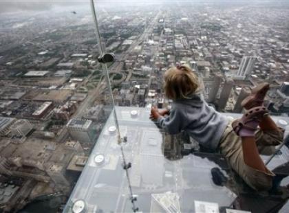 Tylko dla odważnych - szklane balkony