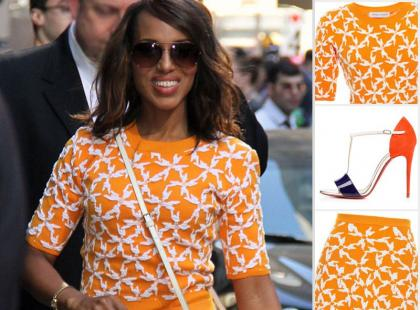 Ubrania i dodatki, które nosi Kerry Washington kupisz w internecie