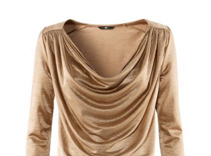 Ubrania i dodatki w kolorze złota i srebra na jesień i zimę
