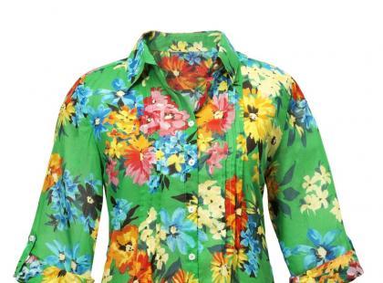 Ubrania i dodatki w kwiaty - wiosna/lato 2012