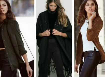 Ubrania i dodatki z zamszu na jesień i zimę
