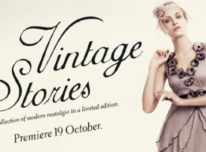 Ubrania vintage w KappAhlu już w poniedziałek!