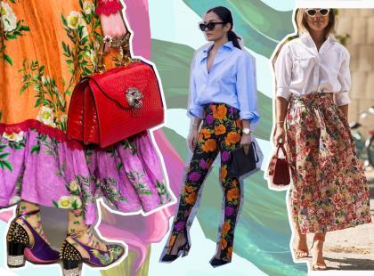 Ubrania w kwiaty dobrze mieć w szafie. To jeden z najmodniejszych wzorów na jesień 2017!