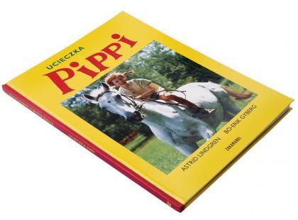 Ucieczka Pippi - książka dla dzieci