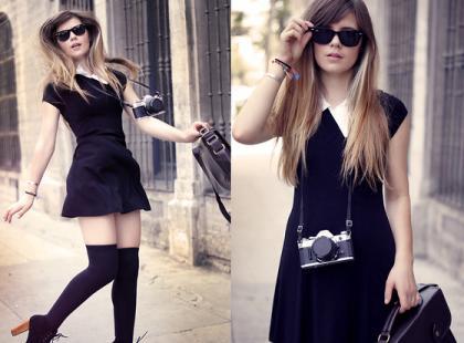Uczennica - Moda uliczna