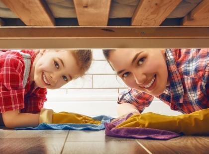 Ufff! Poznaj 8 porad jak sprzątać, aby sięnie zmęczyć!