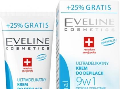 Ultradelikatny krem do depilacji 9w1 Body Therapy - Eveline Cosmetics