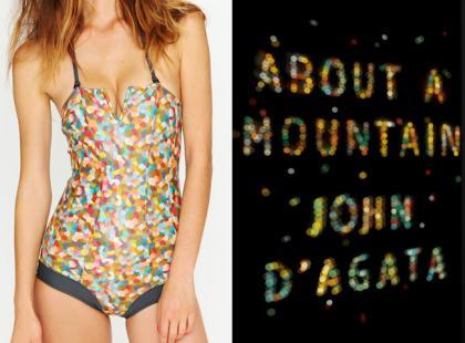 Ulubiona okładka książki na twoim bikini!