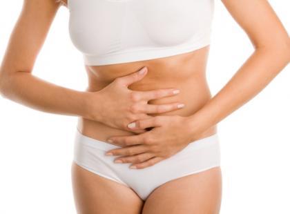 Upławy, stan podgorączkowy po poronieniu