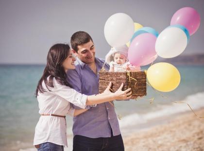 Urlop z niemowlęciem - w góry czy nad morze?