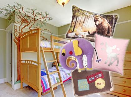 Urocze poduszki do pokoju dziecięcego