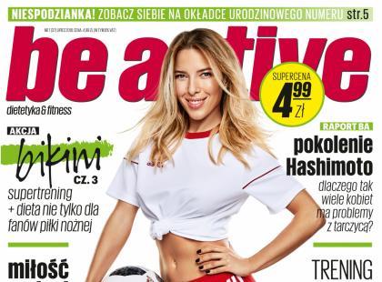Urodzinowe wydanie magazynu Be Active w SUPERCENIE 4,99 zł!