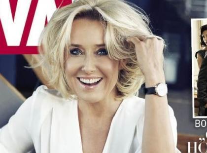 Uśmiechnięta Agata Młynarska na okładce Vivy!