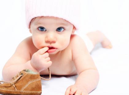 Utrudniony sen u niemowlęcia