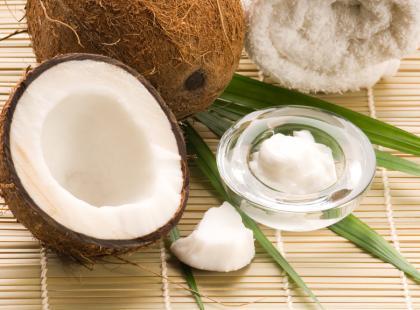Uważaj na olej kokosowy