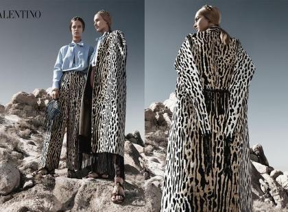 Valentino - kampania na wiosnę 2014