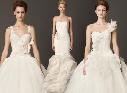 Vera Wang i jej kolekcja na jesień 2013, czyli najmodniejsze suknie ślubne