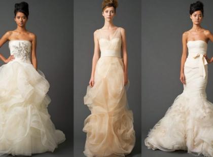 Vera Wang i jej najnowsze suknie ślubne na rok 2011