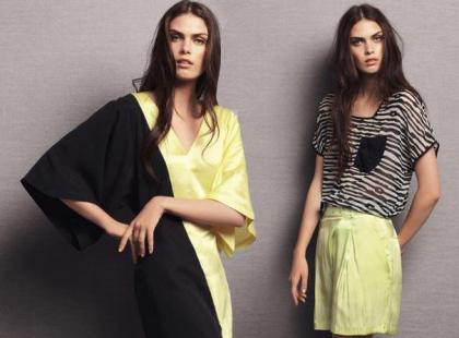 Vero Moda - marcowy lookbook 2012