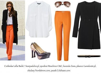 Victoria Beckham i jesienny styl - 3 stylizacje