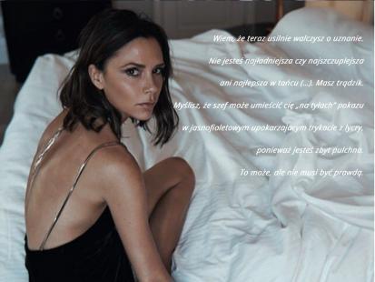 Victoria Beckham pisze do... siebie sprzed lat. A co ty byś napisała w takim liście?