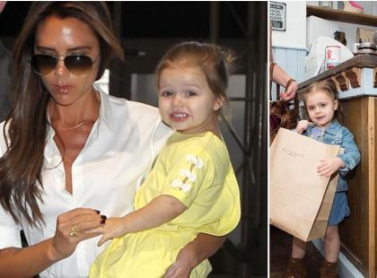 Victoria Beckham wyprzedaje ubrania córki warte miliony funtów