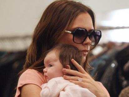 Victoria Beckham zabrała córkę na zakupy!