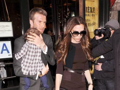 Victoria i David Beckhamowie - Nowy Jork zdobyty!