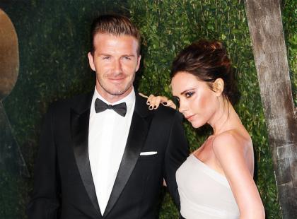 Victoria i David Beckhamowie opuszczają Anglię
