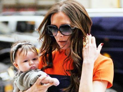 Victoria i Harper Seven Beckham - Jaka mama, taka córka