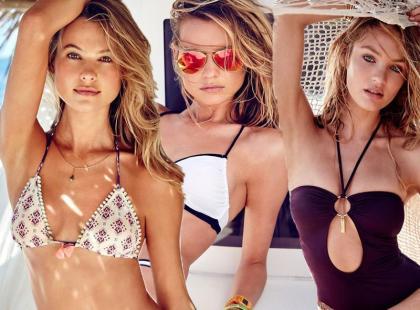 Victoria's Secret i moda plażowa na wakacje 2015