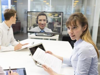 Video-rozmowy kwalifikacyjne coraz popularniejsze. Dlaczego?
