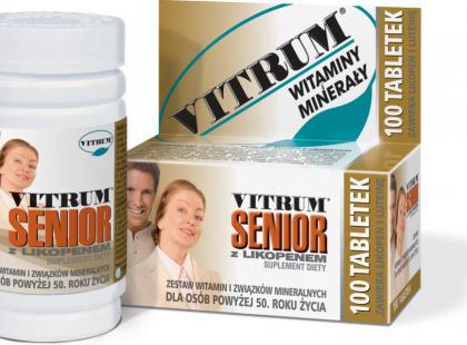 Vitrum Senior z Likopenem