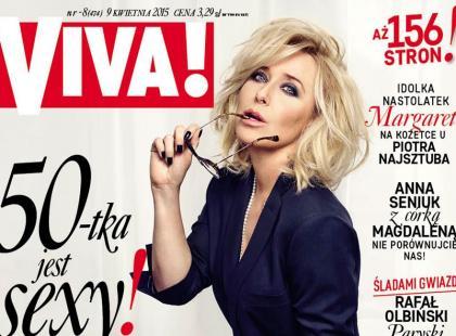 Viva!: Seksowna Agata Młynarska na okładce