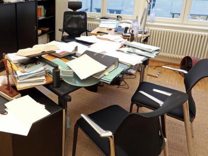 W mojej pracy panuje wieczny chaos