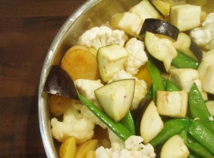 Sałatka kartoflana.