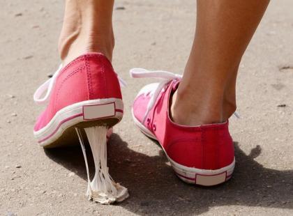 W piekle jest specjalne miejsce dla tych, którzy wypluwają gumę do żucia na chodnik