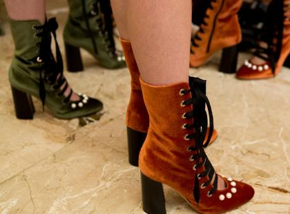 W poszukiwaniu idealnych butów na jesień! 12 par stylowych botków na słupku