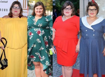 W rozmiarze XXL nie można wyglądać modnie? Dominika Gwit ma inne zdanie