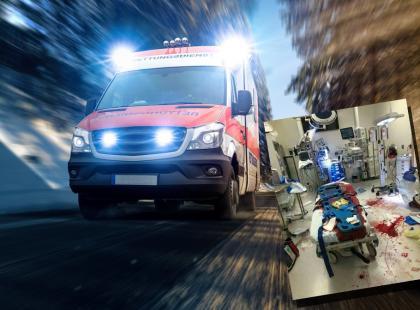 """W szpitalnych oddziałach ratunkowych nie pomaga się pacjentom, bo """"lekarze są zajęci piciem kawy""""? To zdjęcie wywołało prawdziwą burzę!"""