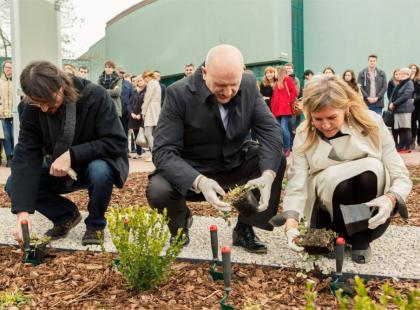 W Warszawie otworzono Ogród Pompego!