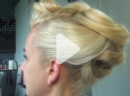 Wakacyjna fryzura na większe wyjście - [video]
