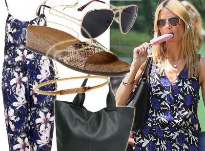 Wakacyjny look w stylu Heidi Klum