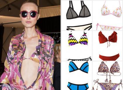 Wakacyjny must-have: 17 seksownych bikini z aktualnych kolekcji